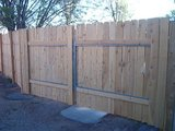 NEW WOOD FENCE OR REPAIR in Alamogordo, New Mexico