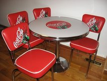 NEW COCA COLA TABLE & 4 CHAIRS in Perry, Georgia