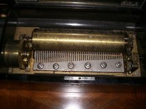 VICTORIAN SWISS 10 TUNE CYLINDER MUSIC BOX  BY DEALER in Ramstein, Germany