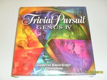 Trivial Pursuit Genus IV - General Knowledge NIB in Sugar Grove, Illinois