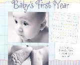 Baby's first year calendar & picture frame in Warner Robins, Georgia