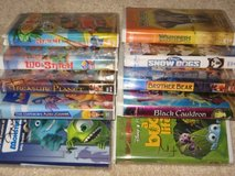 8 Disney VHS movies in Kingwood, Texas