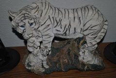 """ TIGER MOM with 3 Cubs "" Figurine in Fort Lewis, Washington"
