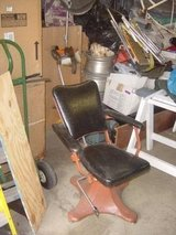 Vintage Barber or Tattoo Chair in Aurora, Illinois